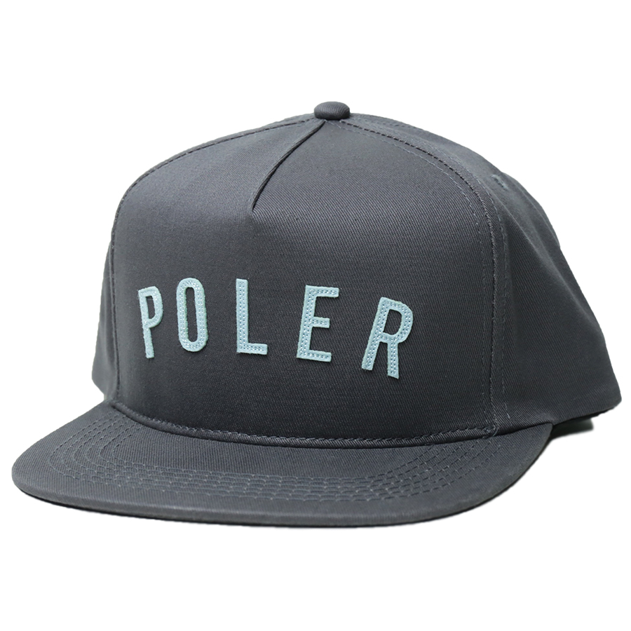 POLeR OUTDOOR STUFF SPRING 16 COLLECTION POLER STATE SNAPBACK color : Grey