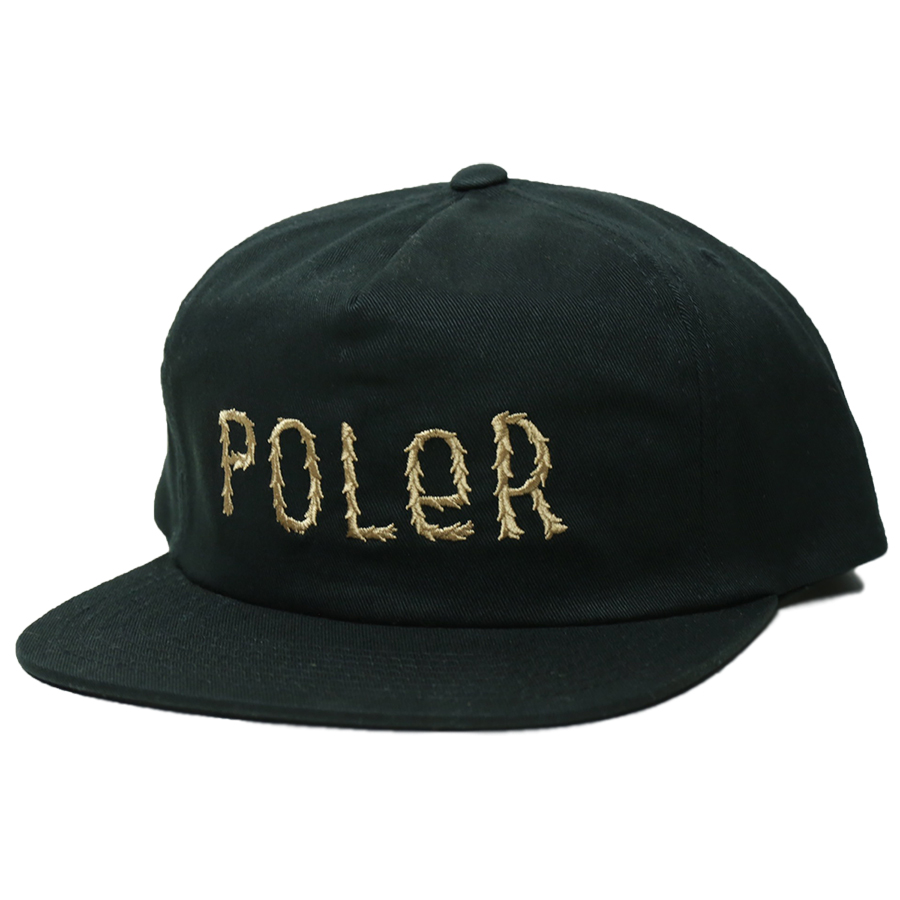 POLeR OUTDOOR STUFF SPRING 16 COLLECTION FURRY FONT SNAPBACK color : Black