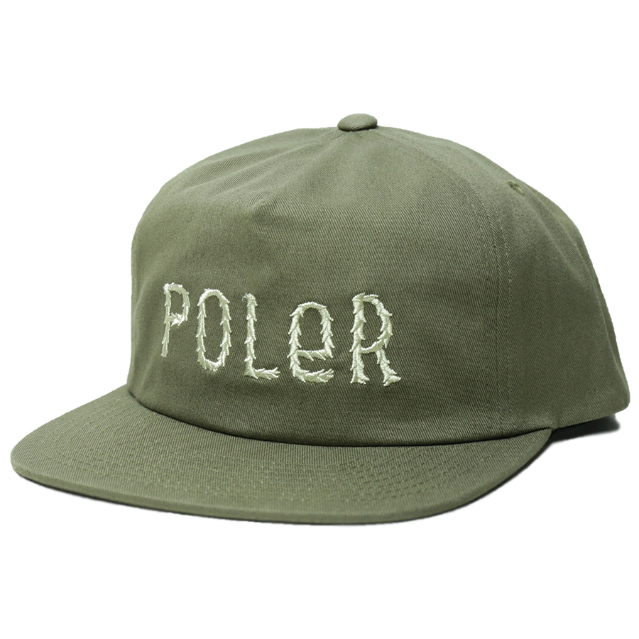 POLeR OUTDOOR STUFF SPRING 16 COLLECTION FURRY FONT SNAPBACK color : Burnt Olive
