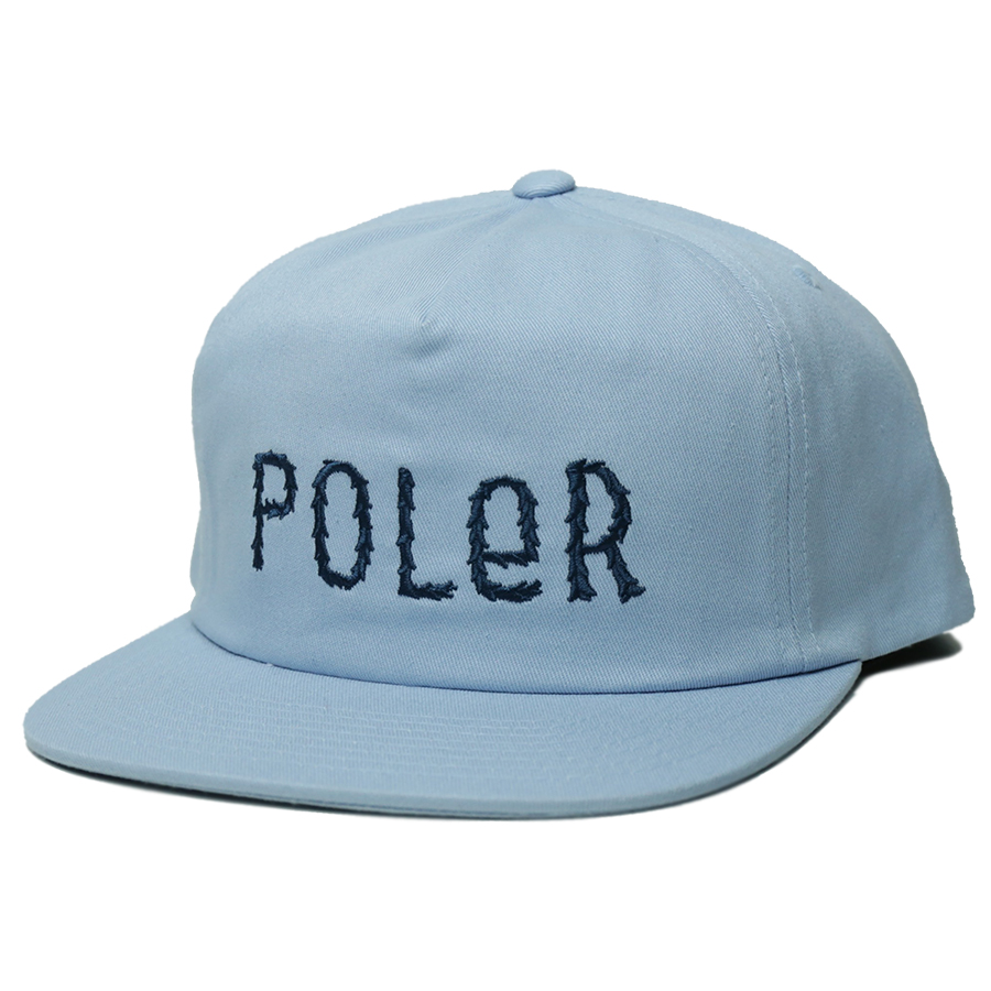 POLeR OUTDOOR STUFF SPRING 16 COLLECTION FURRY FONT SNAPBACK color : Stratosphere