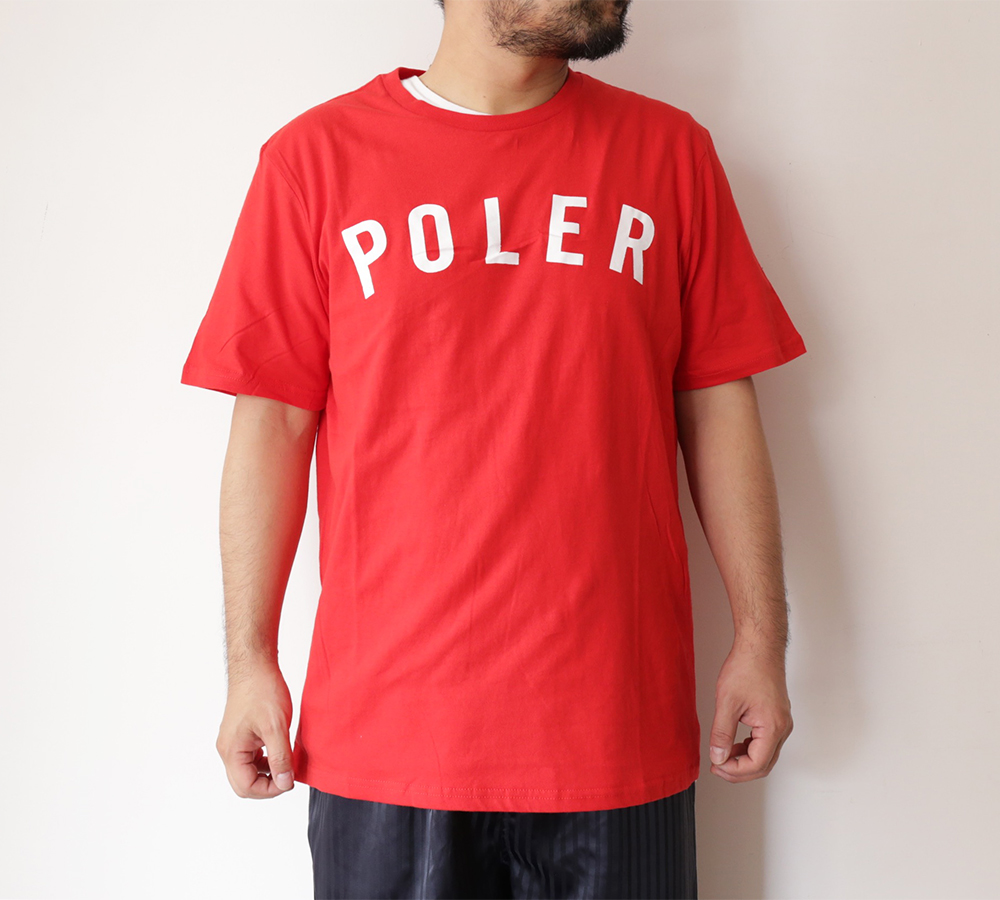 POLeR OUTDOOR STUFF SPRING 16 COLLECTION STATE TEE color : Salsa