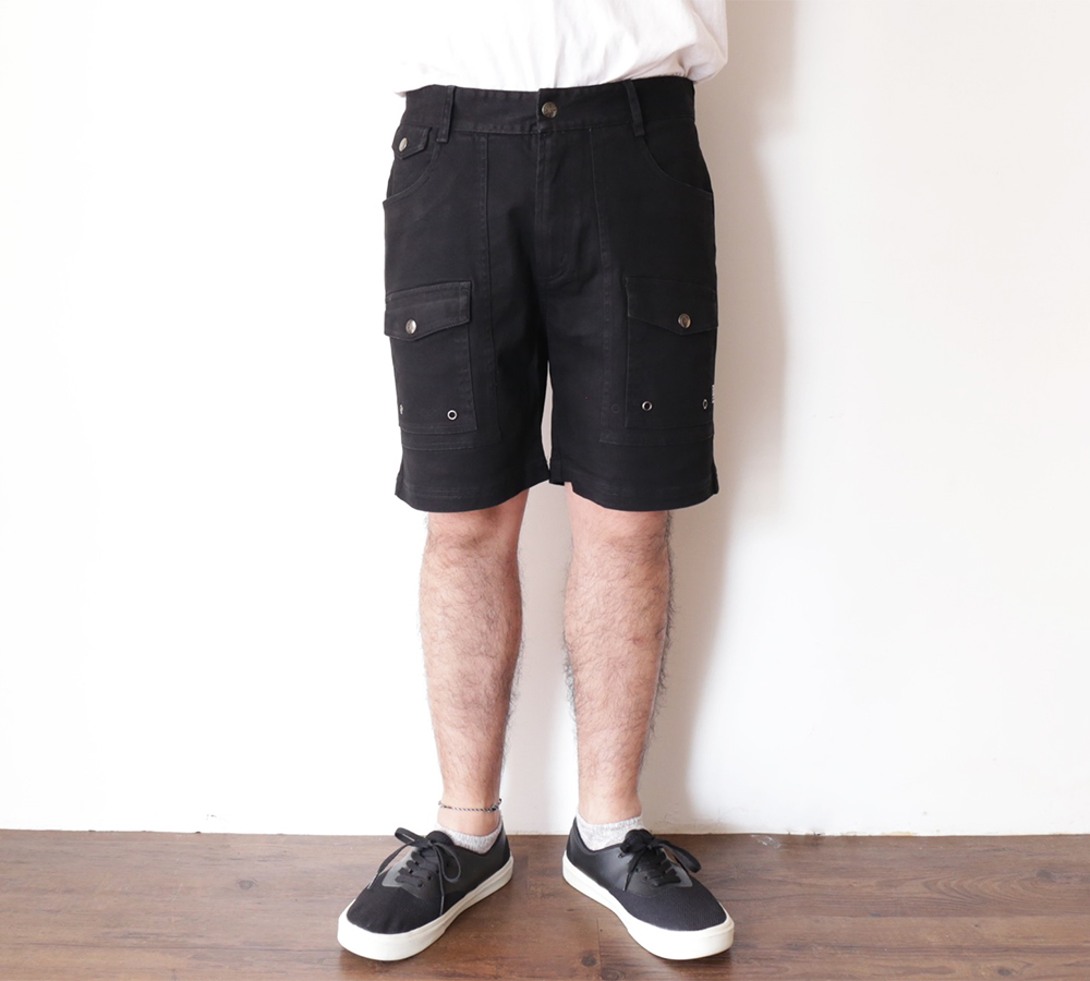 POLeR OUTDOOR STUFF SPRING 16 COLLECTION CAMP SHORTS color : Black