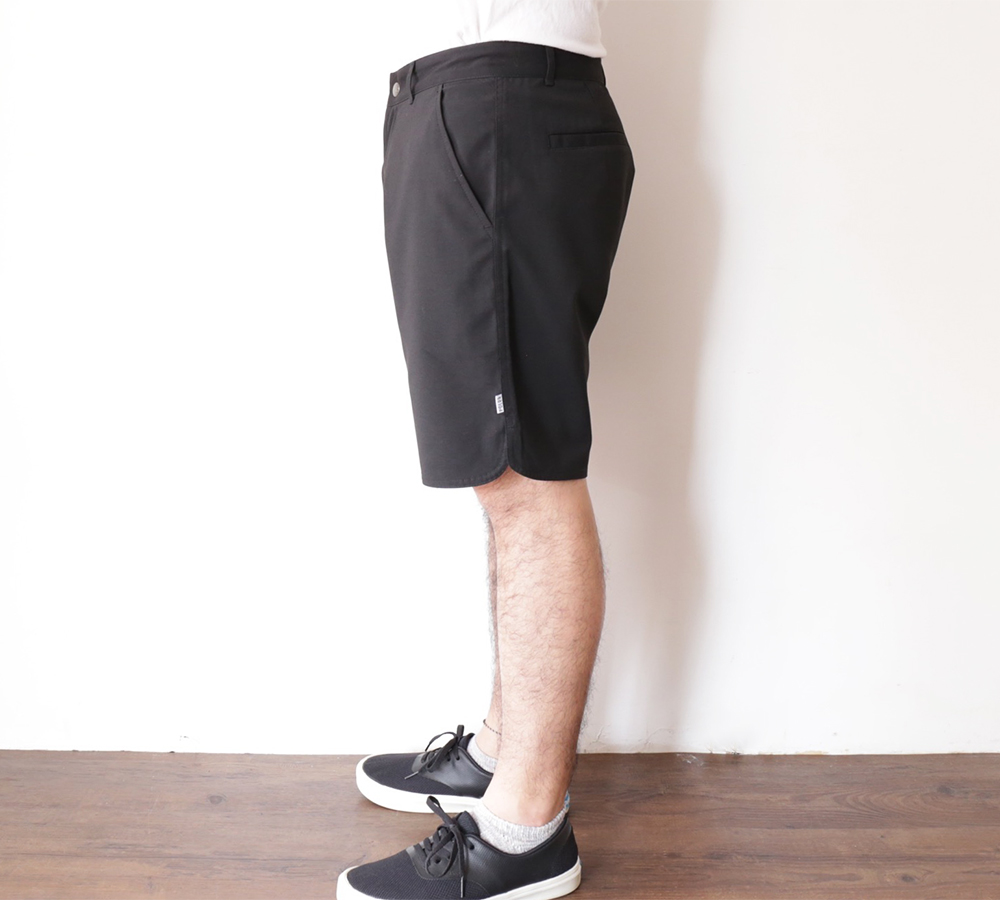 POLeR OUTDOOR STUFF SPRING 16 COLLECTION RIVER CHINO SHORTS color : Black
