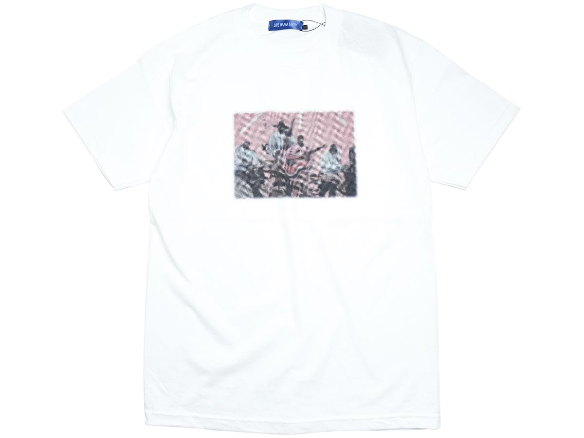 "L.I.F.E (LIVE IN FAB EARTH) AUTUMN & WINTER 2016 ""MCL"" T-SHIRT color : White"