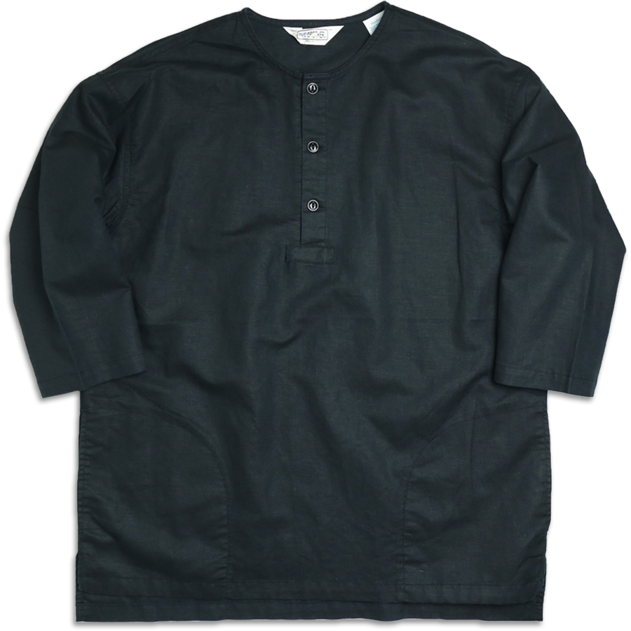 FIVE BROTHER 2016 SS WIDE SLEEPING SHIRT color : Black
