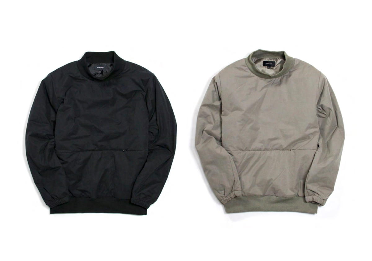 MAIDEN NOIR WINTER 16 COLLECTION INSULATED CREW color : Taupe(Gray)
