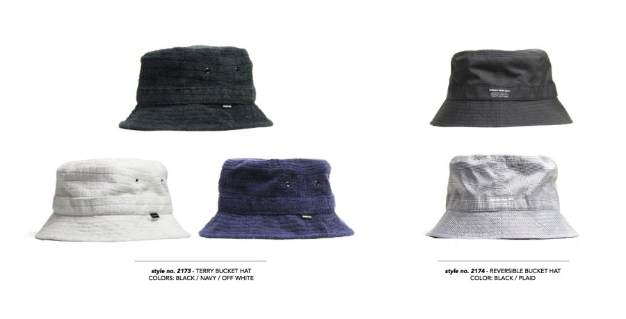 MAIDEN SS16 Terry Bucket Hat
